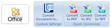 Convert to PDF in Microsoft Office 2007